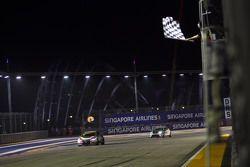 Race 1 Winner: Kevin Gleason, Honda Civic TCR, West Coast Racing 2nd position Stefano Comini, SEAT L