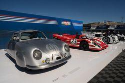 1949 Porsche 356 SL, 1970 Porsche 917K, 2014 Porsche 919 Hybrid