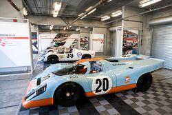 Porsche 917 in Gulf-Farben
