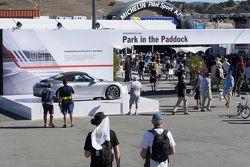 Porsche Rennsport Reunion V atmosphere