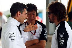 Andrea Stella, ingeniero de carrera con McLaren Fernando Alonso, McLaren