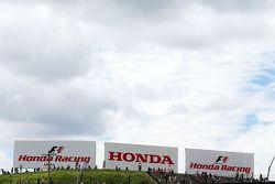 Honda Racing hoardings