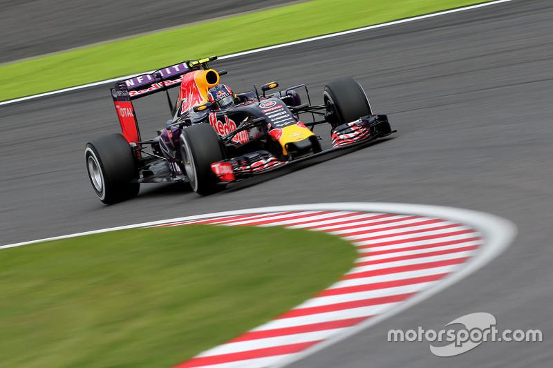 2015 год. За рулем болида (RB11) на квалификации