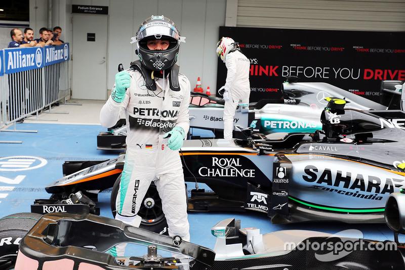 Гран При Японии, 26 сентября. Нико Росберг и Льюис Хэмилтон