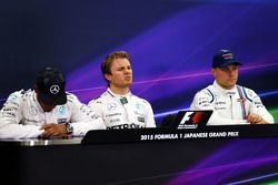 Polesitter: Nico Rosberg, Mercedes AMG F1 Team, second place Lewis Hamilton, Mercedes AMG F1 Team, t