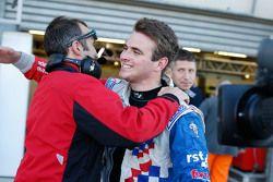 Race winner Oliver Rowland, Fortec Motorsports