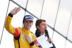 Third place Tom Dillmann, Carlin with Bruno Vandestick