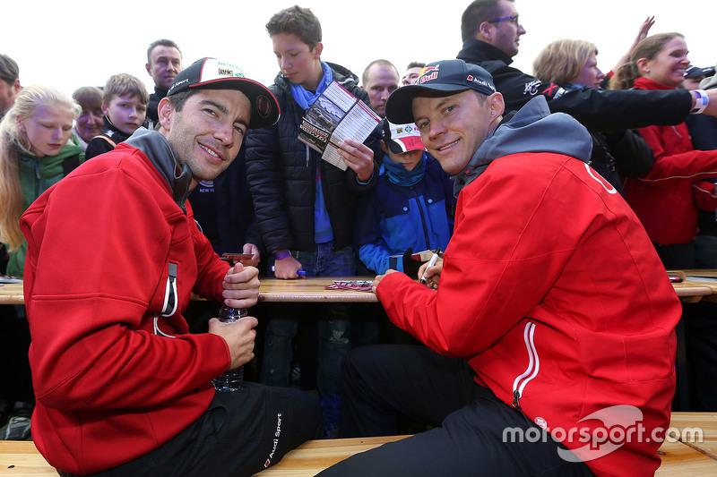 Майк Роккенфеллер, Audi Sport Team Phoenix Audi RS 5 DTM та Маттіас Екстрем, Audi Sport Team Abt Spo