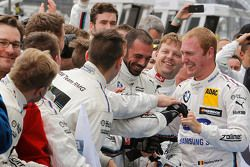 Il vincitore Maxime Martin, BMW Team RMG BMW M4 DTM