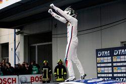 Race winner Maxime Martin, BMW Team RMG BMW M4 DTM