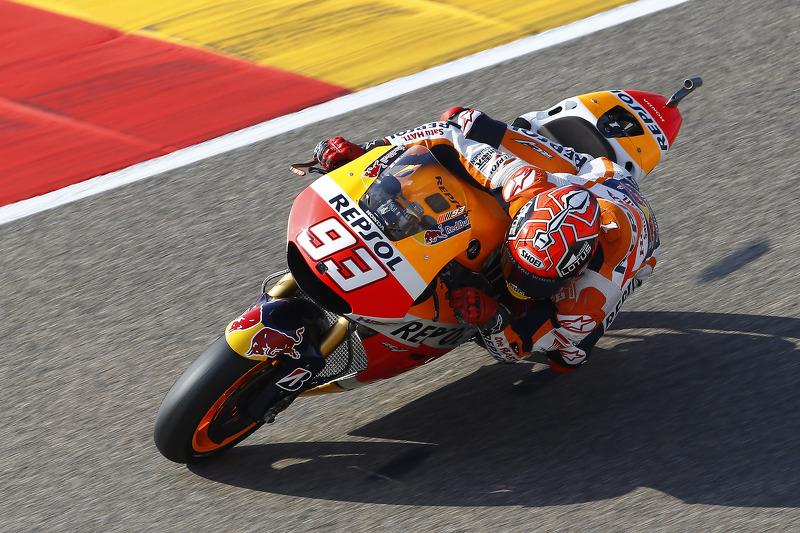 """Aragón 2015 - Marc Márquez (Honda) 1'46""""635"""