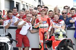 El tercer lugar clasificatorio Andrea Iannone, Ducati