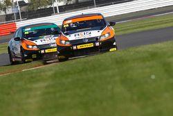 Jason Plato, & #40 Aron Smith, Team BMR, Volkswagen CC