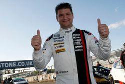 Ganador de la pole Mat Jackson, Motorbase Performance, Ford Focus