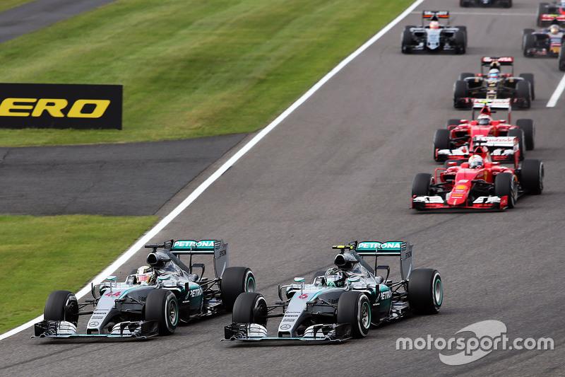 Гран При Японии, 27 сентября. Борьба Льюиса Хэмилтона и Нико Росберга
