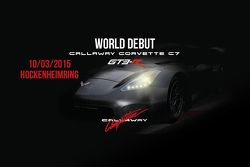 Teaser Callaway C7 GT3-R