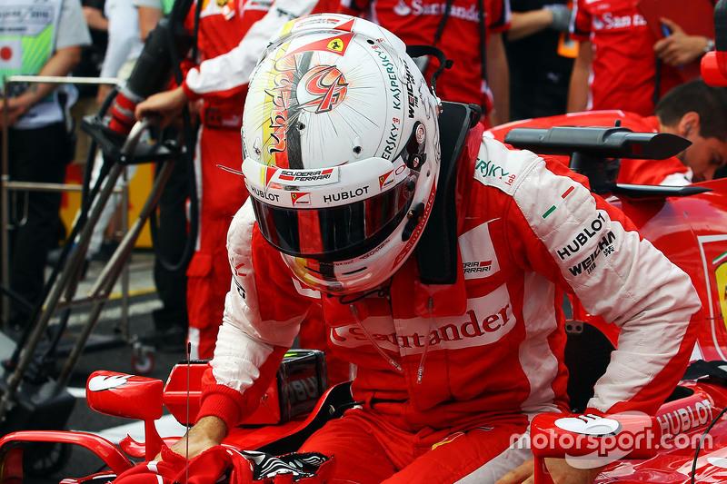 Sebastian Vettel en el GP de Japón 2015 (Ferrari)