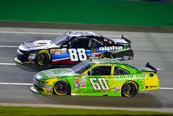 Chris Buescher, Roush Fenway Racing Ford e Ben Rhodes, JR Motorsports Chevrolet