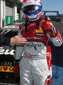 Le poleman Miguel Molina, Audi Sport Team Abt Audi RS 5 DTM