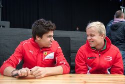 Lance Stroll, Prema Powerteam and Felix Rosenqvist, Prema Powerteam