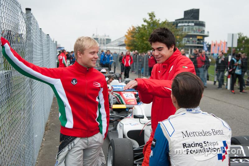 Lance Stroll, Prema Powerteam e Felix Rosenqvist, Prema Powerteam