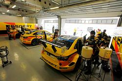 L'ambiance dans le garage