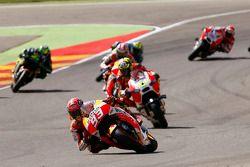 Marc Marquez, Repsol Honda Team and Andrea Iannone, Ducati Team