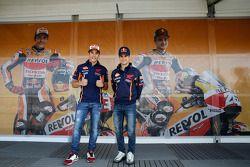 Dani Pedrosa y Marc Márquez, Repsol Honda Team