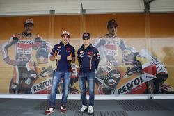 Dani Pedrosa et Marc Marquez, Repsol Honda Team