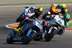 Scott Redding, Marc VDS Racing Honda y Eugene Laverty, Aspar MotoGP Team