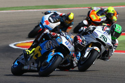 Scott Redding, Marc VDS Racing Honda et Eugene Laverty, Aspar MotoGP Team