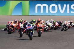 Inicio: Jorge Lorenzo, Yamaha Factory Racing líder