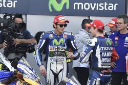 Победитель - Хорхе Лоренсо и третье место - Валентино Росси, Yamaha Factory Racing