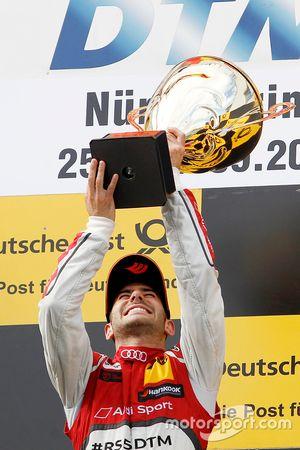 Podio: ganador de la carrera Miguel Molina, Audi Sport Team Abt