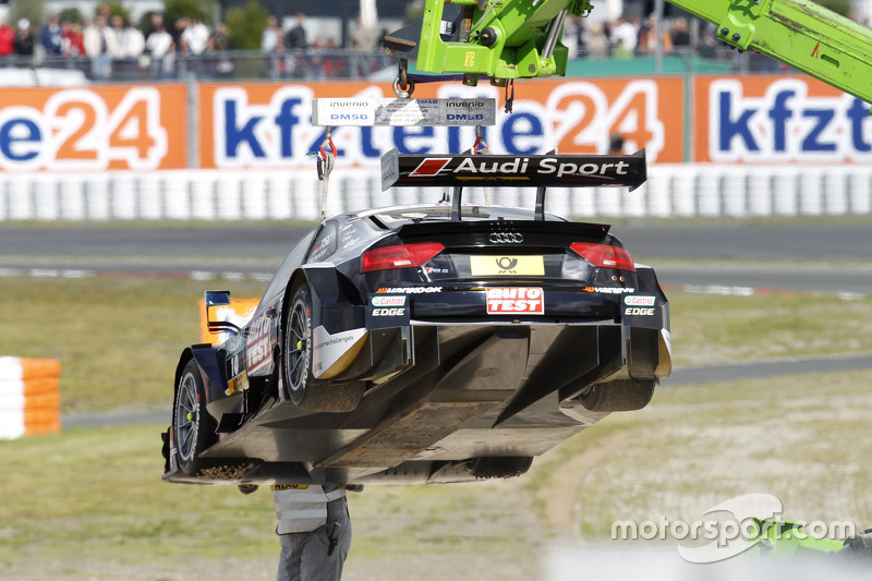 The car of Timo Scheider, Audi Sport Team Phoenix Audi RS 5 DTM