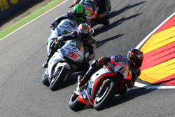 Stefan Bradl, Aprilia Racing Team Gresini, Nicky Hayden et Eugene Laverty, Aspar MotoGP Team