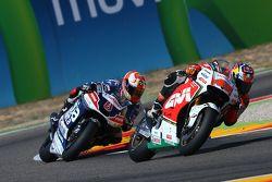 Jack Miller, Team LCR Honda y Hector Barbera, Avintia Racing