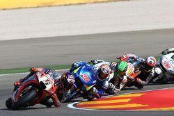 Stefan Bradl, Aprilia Racing Team Gresini and Maverick Viñales, Team Suzuki MotoGP and Eugene Lavert