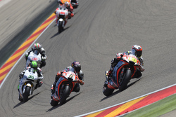 Alvaro Bautista e Stefan Bradl, Aprilia Racing Team Gresini and Eugene Laverty e Nicky Hayden, Aspar MotoGP Team