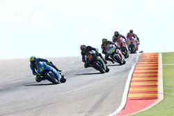 Aleix Espargaró, Team Suzuki MotoGP y Bradley Smith, Tech 3 Yamaha y Cal Crutchlow, Team LCR Honda