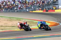 Aleix Espargaró, Team Suzuki MotoGP y Andrea Dovizioso, Ducati Team