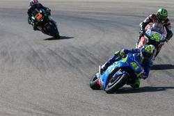 Aleix Espargaró, Team Suzuki MotoGP y Cal Crutchlow, Team LCR Honda y Bradley Smith, Tech 3 Yamaha