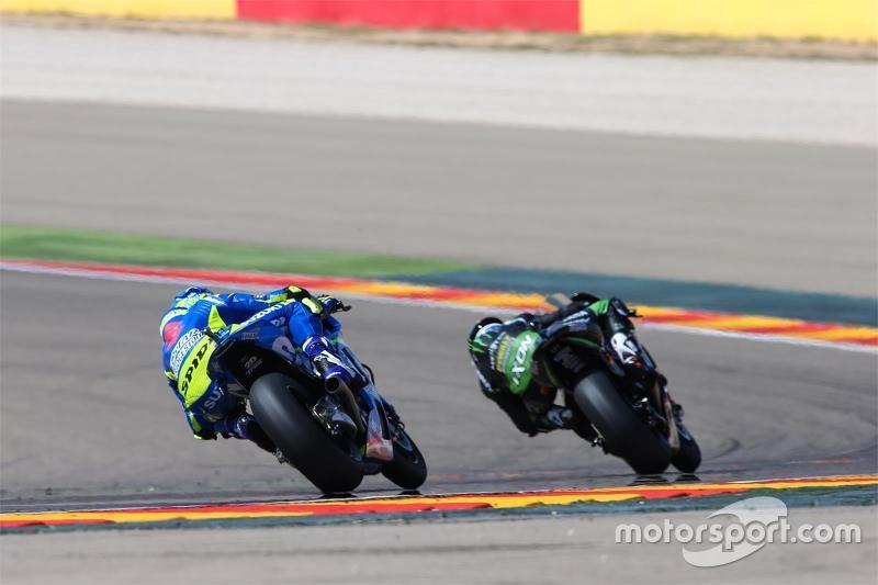 Pol Espargaro, Tech 3 Yamaha; Aleix Espargaro, Team Suzuki MotoGP