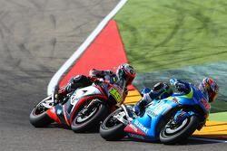 Maverick Viñales, Team Suzuki MotoGP y Alvaro Bautista, Aprilia Racing Team Gresini y Nicky Hayden,
