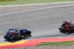 Maverick Viñales, Team Suzuki MotoGP and Jack Miller, Team LCR Honda