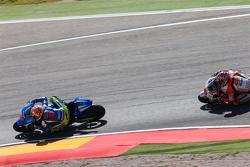 Maverick Viñales, Team Suzuki MotoGP e Jack Miller, Team LCR Honda
