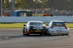 Colin Turkington, Team BMR, Volkswagen CC Rob Collard, Team JCT600 with GardX, BMW 125i MSport