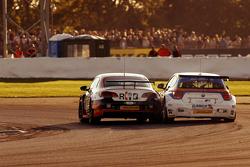 Colin Turkington, Team BMR, Volkswagen CC Rob Collard, Team JCT600 with GardX, BMW 125i MSport