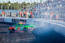 Danica Patrick, Stewart-Haas Racing Chevrolet crashes