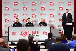 Gunther Steiner, Romain Grosjean, Gene Haas